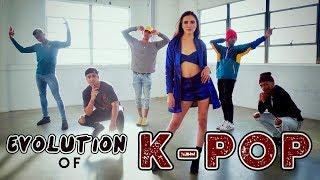 Evolution of K-POP!! (ft. Alyson Stoner & Next Town Down)