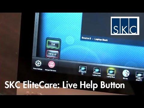 SKC EliteCare Enhancements: Live Help Button