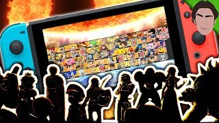 Returning Veterans in Smash Bros Switch! Who is Getting CUT??