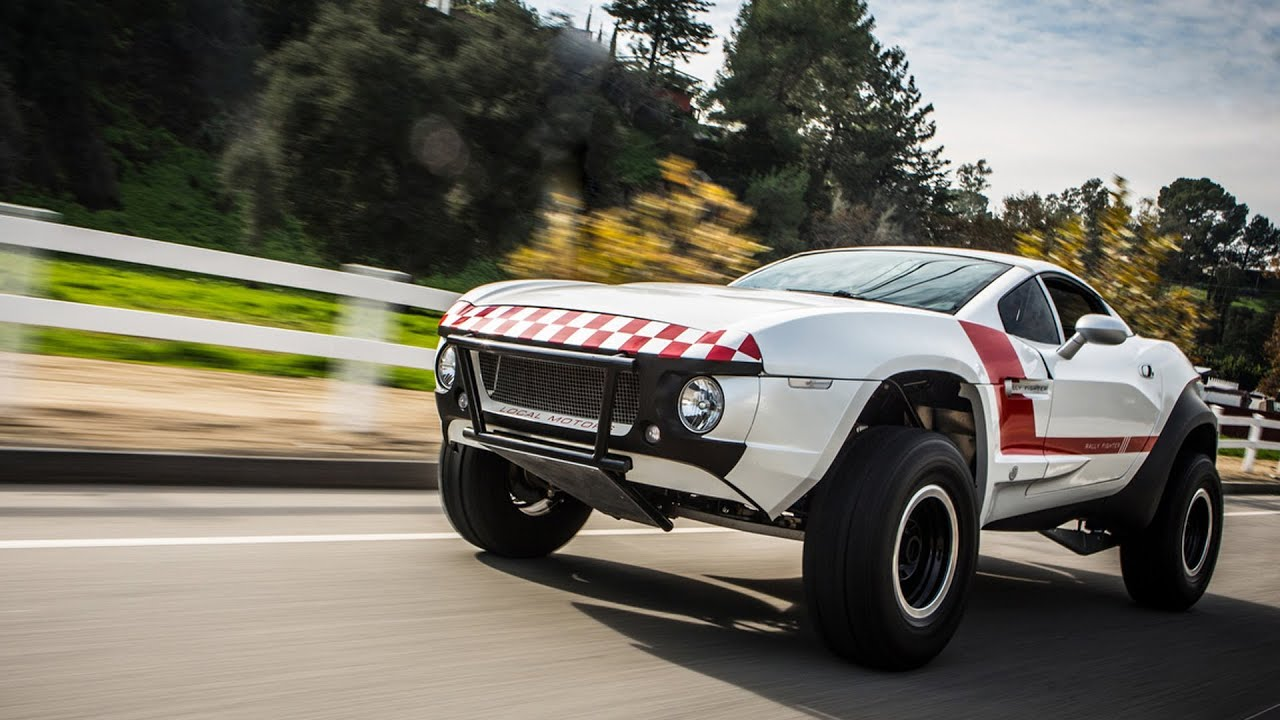 Local Motors Rally Fighter >> Local Motors Rally Fighter - Jay Leno's Garage - YouTube