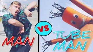 Epic Dance Battle | Man vs. Tube Man
