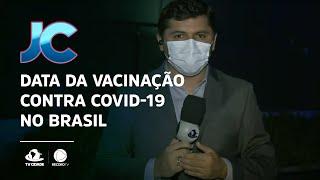 Data da vacinação contra Covid-19 no Brasil