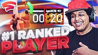 I'M THE #1 RANKED NBA 2K PLAYER ON THE GOOGLE STADIA