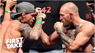 Conor McGregor vs. Dustin Poirier trilogy fight: Stephen A. and Max discuss the stakes | First Take