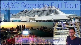 MSC Seaside Full Tour