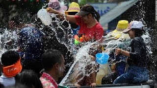 World's biggest water fight: Thailand celebrates New Year