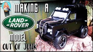 Making A Land Rover Defender Model Out Of Junk | Spectre Edition/Tweaked Automotive Inspired | MiS