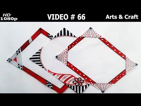 Beautiful Project Design Video 66 Arts Craft