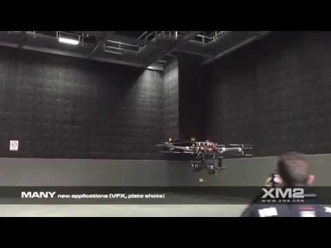 XM2 Aerial - Dual cinema camera drone