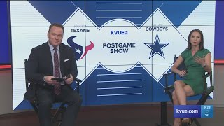 VIDEO: KVUE recaps Dallas Cowboys 34-0 shut out of Houston Texans