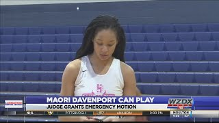 Judge grants motion allowing high school basketball player to return to the court