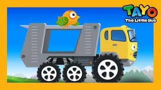 Tayo strong car carrier Carry l Repair Game l Learn Street Vehicles l Tayo the Little Bus