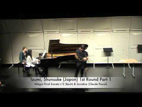 Izumi, Shunsuke Japon 1st Round Part 1