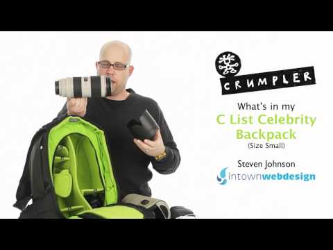 Crumpler C List Celebrity Backpack (Size Small)