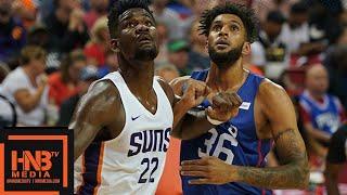 e05d5e262ece Phoenix Suns vs Philadelphia Sixers Full Game Highlights   July 12   2018  NBA Summer League