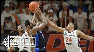 With Zion Williamson out, Duke loses to Virginia Tech | College Basketball Highlights