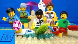 LEGO Dude Perfect Beach Stereotypes