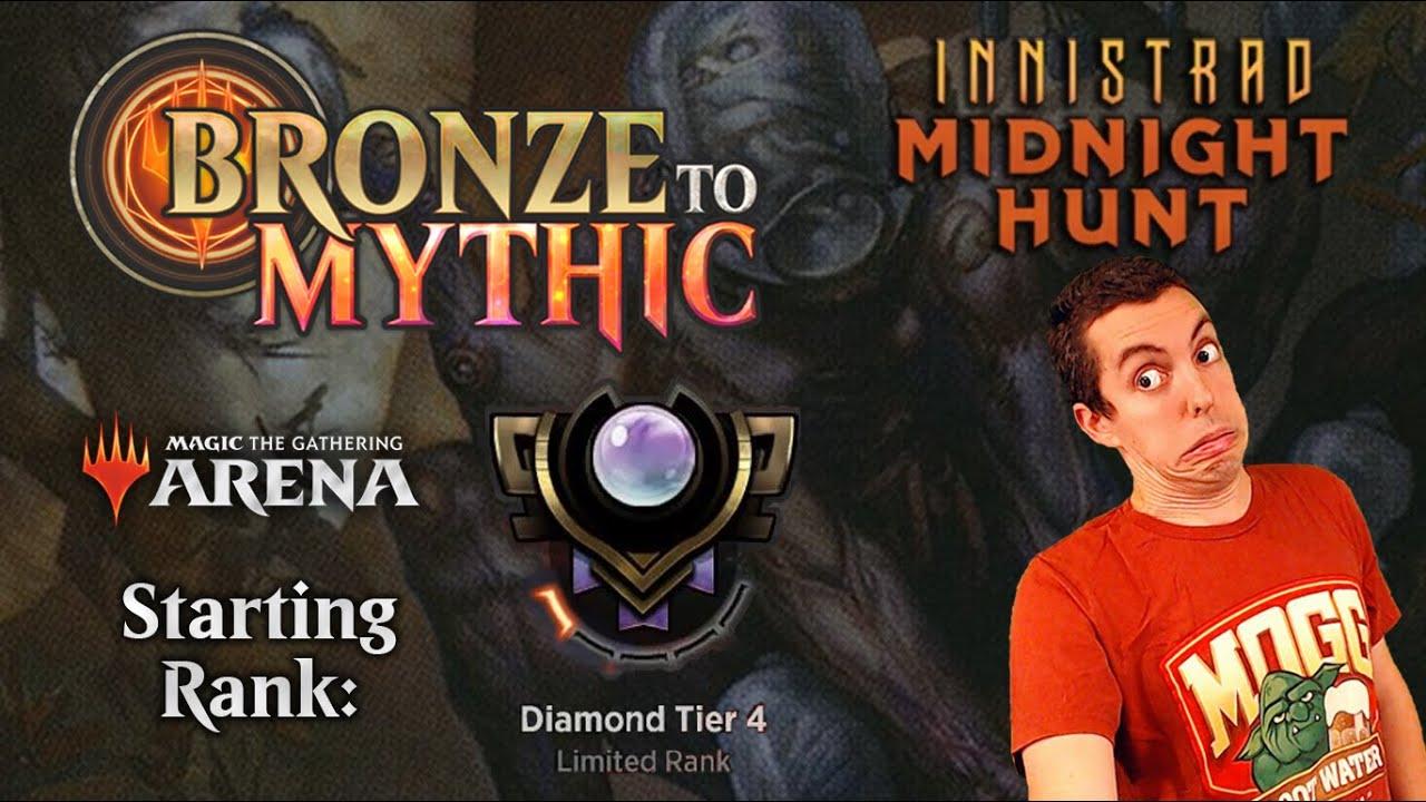 💎 MTG Arena: Bronze To Mythic: Episode 17 - Starting Rank: Diamond 4 (Innistrad Midnight Hunt Draft)