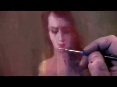 учёба масляной живописи: