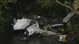 Car Crashes Into Monroeville Creek, At Least 7 Hospitalized