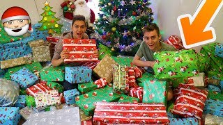 OPENING CHRISTMAS PRESENTS... EARLY!