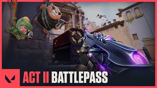 Act II Battlepass Trailer - VALORANT