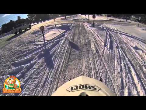 Awesome Sledding