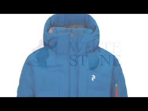 Peak Performance Jr Shiga Boys Ski Jacket in Hero Blue