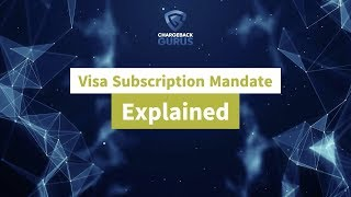 Visa Free Trial & Subscription Mandate