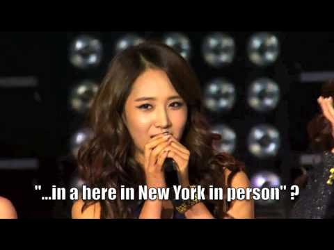 SNSD's Funny English Introduction