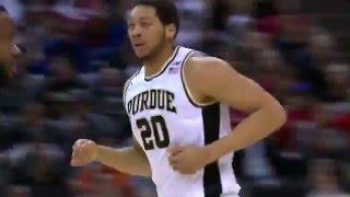 Michigan vs. Purdue - 2016 Big Ten Men's Basketball Men's Basketball Highlights