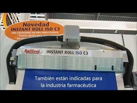 Puertas rápidas Instant Roll ISO C3 - Angel Mir (Portes Bisbal SL)