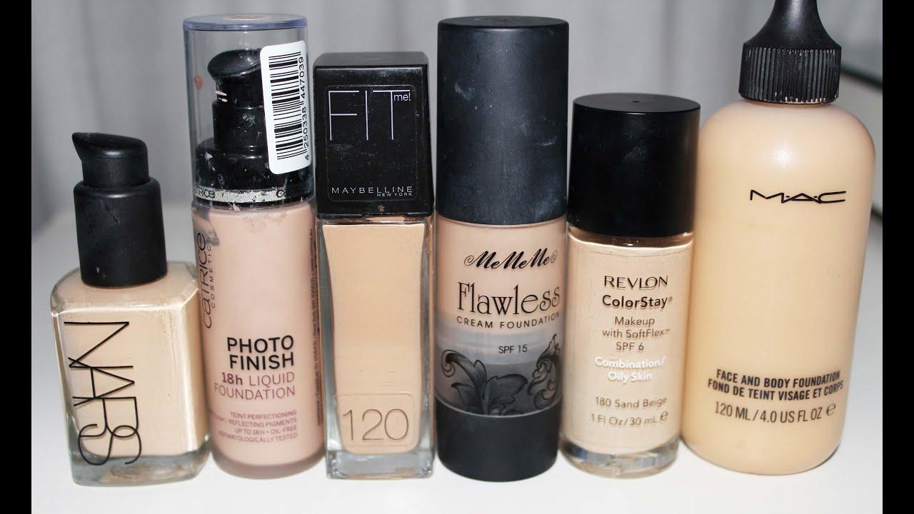 Hablemos de: Mis bases de maquillaje (uso en piel seca