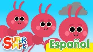 Las Hormigas Marchan De Una En Una | Canciones Infantiles | Super Simple Español