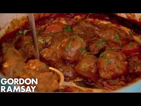 Beef & Ale Stew with Mustard Dumplings | Gordon Ramsay