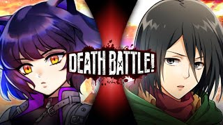 Blake vs Mikasa (RWBY vs Attack On Titan) | DEATH BATTLE - Fan Trailer