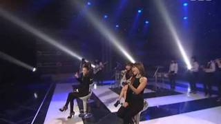 2NE1 - I don't care Unplugged ver @ SBS Inkigayo 인기가요 090830