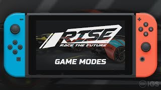 RISE: Race The Future - Game Modes (Nintendo Switch)