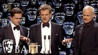 Three Billboards Outside Ebbing Missouri wins Best Film | EE BAFTA Film Awards 2018