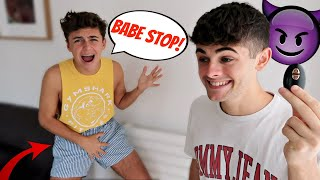 VIBRATING UNDERWEAR PRANK ON BOYFRIEND! (Gay Couple Pranks)