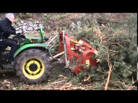 Seppi m miniforst forestry mulcher trincia for Di raimondo macchine agricole