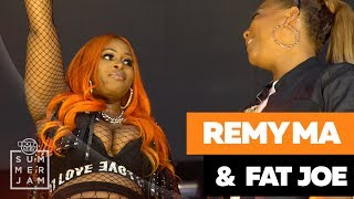 Remy Ma Brings Out The Queens of Hip Hop at Summer Jam