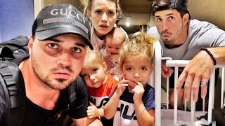 FAMILY STUCK IN NEW YORK POWER OUTAGE (*TRAPPED*)