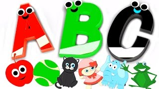 Phonics Song ABC Nursery Rhymes For Kids Children's Music Videos  kids tv S02 EP060