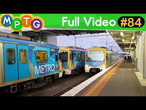 Melbourne's Metro and V/Line Trains (Full Video #84)