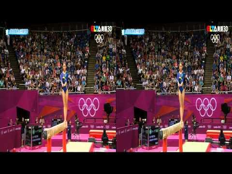 MOD 168台 3D奧運轉播,透過全都錄.高畫質錄放影機(HVR-6040)錄下的效果