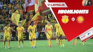 DNH Nam Định đánh bại Thanh Hóa, khẳng định sức mạnh thành Nam |VPF Media