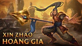 Xin Zhao Hoàng Gia - Imperial Xin Zhao - Skins lol