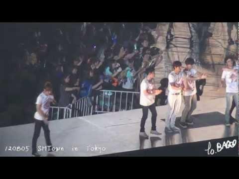 【Bao】120805 SMT in TOKYO Ending EXO+SJ Focused(1080p)