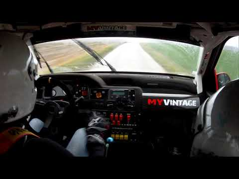 Patrick Snijers test een Ford Escort Cosworth gr.A